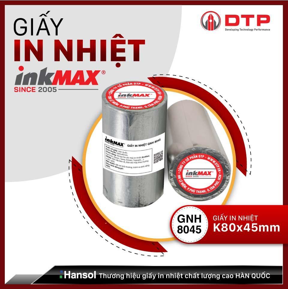 Giấy in nhiệt inkMAX K80x45